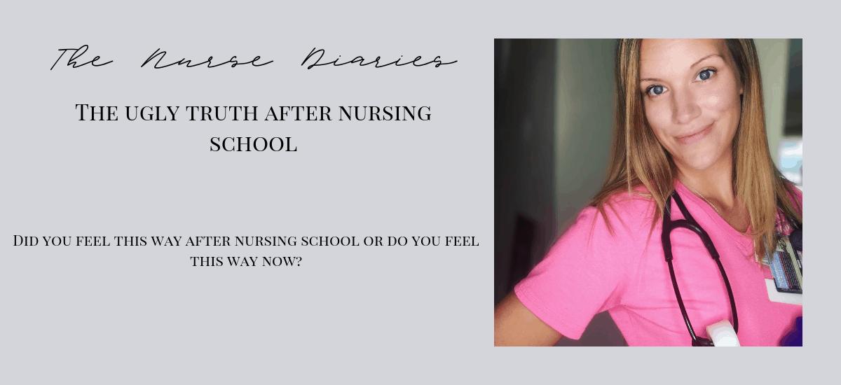 Self-doubt after nursing school.